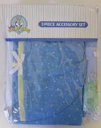 Looney Tunes Nursery Decor by Amazon Com Baby Looney Tunes 3 Piece Playday Accessory Set