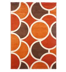 Orange Outdoor Rug by Cream And Orange Rug Roselawnlutheran