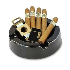 cigar gift set macanudo ashtray cutter and cigars gift set each
