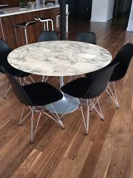 round marble kitchen table authentic saarinen round marble dining table marble dining tables