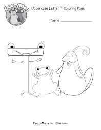 printable coloring pages t coloring page free printable