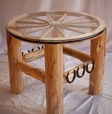 Wagon Wheel Coffee Table by Wagon Wheel Table Alpine Heights