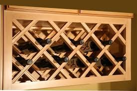 kitchen cabinet wine rack ideas lattice kitchen wine rack cabinet with glass holder underneath to