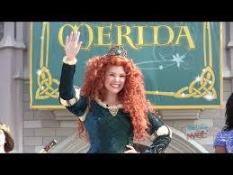 merida 11th disney princess coronation ceremony walt