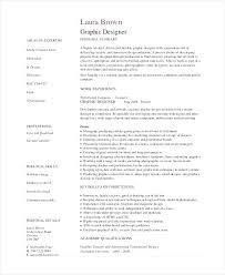 resume exles graphic design graphic designer resume objective resume exle graphic design
