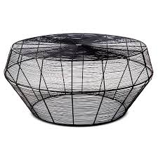 Wire Coffee Table Black Wire Coffee Table Aiden Grace