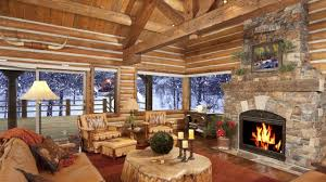 relaxing atmosphere beautiful snow with fireplace sound sleep