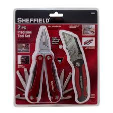 sheffield 12224 2 piece precision tool set home improvement