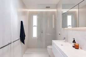 small bathroom recessed lighting bathroom modern with shaving