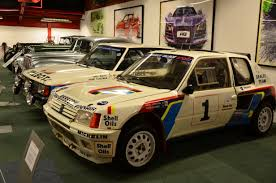 peugeot motor cars file peugeot 205 rally car at coventry motor museum jpg