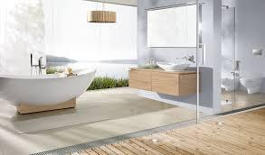 bathroom design shower blue gray soho glass mosaic tiles shower