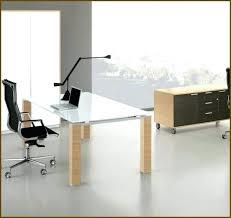 Furniture Unpolished Oak Wood Computer Desk Placed On Light Gray by Light Wood Computer Desk Captivating Modern Wood Computer Desk