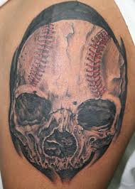 15 baseball tattoo designs and images