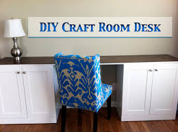 Diy Craft Desk Diy Craft Room Desk Let S Get Crafty
