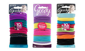 goody s hair goody ouchless elastic hair ties 120 or 135 pack groupon
