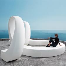vondom and modular bench system gravity defying modern design