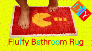 Diy Bathroom Rug Diy Bathroom Carpet How To Make Magic Bathroom Rug Diy Yarn