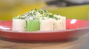 comment cuisiner du poireau ma recette de poireaux mimosa laurent mariotte