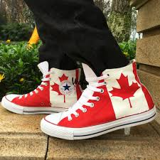aliexpress com buy canadian national canada flag converse all