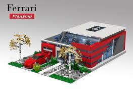 ferrari lego f40 lego ideas ferrari flagship showroom lego speed champions