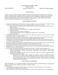 It Risk Management Resume Program Manager Resume Unforgettable Technical Project Manager