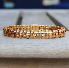 weave bracelet images Vintage tiffany 18k gold basket weave bracelet gold west vintage