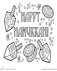 hanukkah coloring pages for kids u2013 jew it up