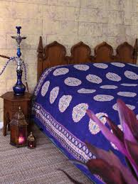 Purple Coverlets Sultans Palace Purple Blue Moroccan Vintage King Bedspread