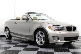 bmw convertible 1 series 2013 used bmw 1 series certified 128i convertible tech