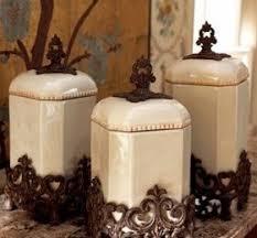 fleur de lis canisters for the kitchen decorative kitchen canisters sets decor