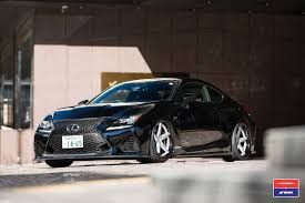 lexus rcf silver lexus rc f by skipper japan has vossen wheels autoevolution