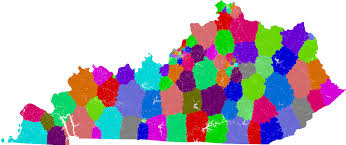 House District Map Kentucky House Of Representatives Redistricting
