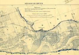 Map Montana Map Of The Missouri River From Its Mouth To Three Forks Montana