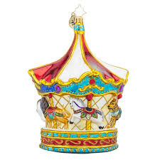 radko 1018216 menagerie go limited edition merry go