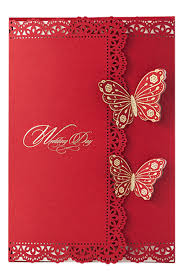 Large Butterfly Decorations by Wedding Invitation Ideas Gold Laser Cut Wedding Inviattions In
