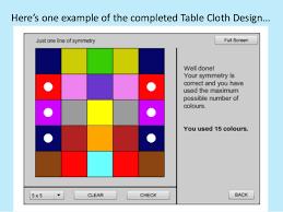 maths interactive symmetry activities
