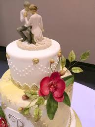 wedding cake indonesia orchid wedding cake cakecentral