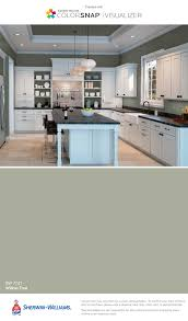 is sherwin williams white a choice for kitchen cabinets i found this color with colorsnap visualizer for iphone by