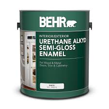 best self leveling paint for cabinets specialty alkyd semi gloss enamel paints for your project behr