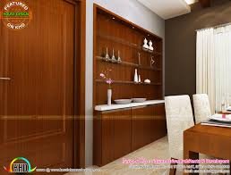 sweet interior designs kerala home design and floor plans kitchen view living room dining room showcase design