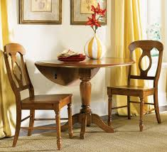 Duncan Phyfe Dining Room Table by Drop Leaf Kitchen Tables For Small Spaces Brown Wooden Bench