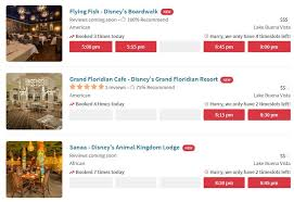 open table reservation system disney world restaurants join opentable reservation system the
