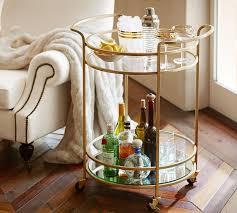 round bar cart diy optimizing home decor ideas simple smart