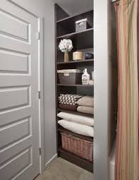 Closet Bathroom Ideas Endearing Bathroom Linen Closet Ideas With Storage Ideas No Linen