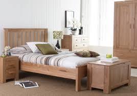 Light Wood Bedroom Bedroom Interesting Light Brown Solid Wood Oak Bed Design For