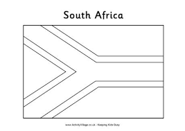 awesome collection of coloring pages flags of africa for layout