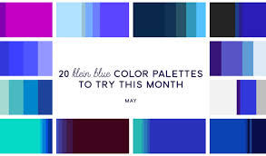 minimalist color palette 2016 20 klein blue color palettes to try this month may 2016