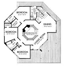 contemporary style house plan 3 beds 2 baths 1664 sq ft plan floor plan main floor plan