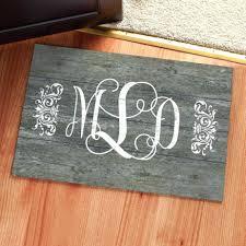 front door mats outdoor personalized uk beige black half moon coir