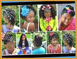cute black braided hairstyles for little girls youtube inside
